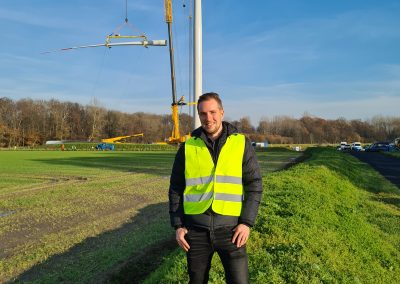 Bauüberwachung durch unseren Teamkollegen Tim Kunze